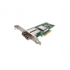 Адаптер Dell QLogic 2562 Dual Port 8Gb Fibre Channel HBA PCI-E X8 -Full Profile kit (406-BBEK)