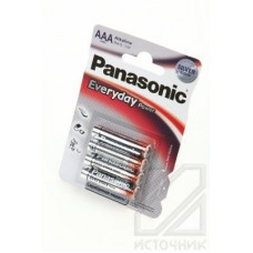 Panasonic Everyday Power LR03EPS/4BP RU LR03 BL4 Элемент питания LR03