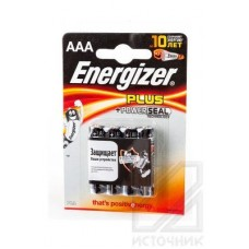 Energizer Plus+Power Seal LR03 BL4 Элемент питания LR03