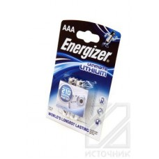 Energizer Ultimate LITHIUM FR03 BL2 Элемент питания FR03