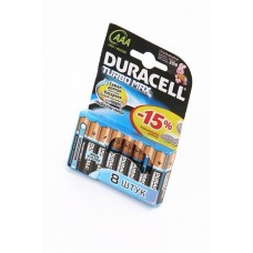 DURACELL TURBO MAX LR03 BL8 Элемент питания LR03