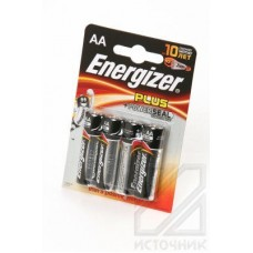 Energizer Plus+Power Seal LR6 BL4 Элемент питания LR6