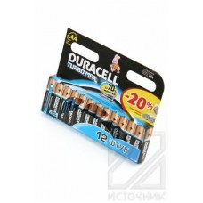 DURACELL TURBO MAX LR6 BL12 Элемент питания LR6