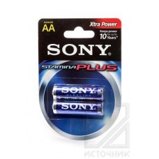 SONY Stamina Plus AM3-B2D LR6 BL2 Элемент питания LR6
