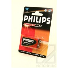 PHILIPS POWERLIFE 6LR61 BL1 Батарея 6LR61