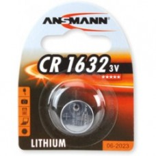 ANSMANN 1516-0004 CR1632 BL1 Элемент питания 1632