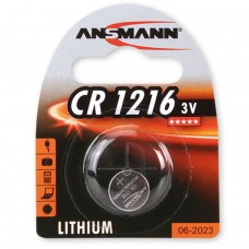 ANSMANN 1516-0007 CR1216 BL1 Элемент питания 1216