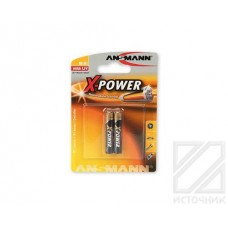 ANSMANN X-POWER 1510-0005 AAAA BL2 Элемент питания LR61