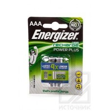 Energizer Recharge Power Plus AAA 700mAh BL2 Элемент питания MH700AAA
