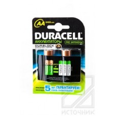 DURACELL HR6 АА 2400mAh stay charged BL2 Аккумулятор MH2400AA