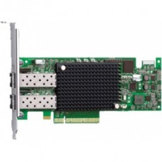 Адаптер Dell Emulex LPe16002 Dual Port 16Gb Fibre Channel HBA Kit (406-10549)